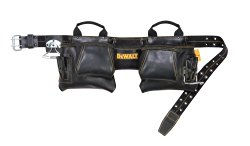 Dewalt 12 Pocket Top Grain Leather Tool Belt and Pouches