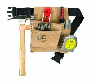 Custom Leathercraft Suede Leather Tool Belt