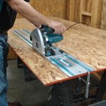 Makita SP6000J1 6-1/2-Inch Plunge Circular Saw with Guide Rail Track Saw