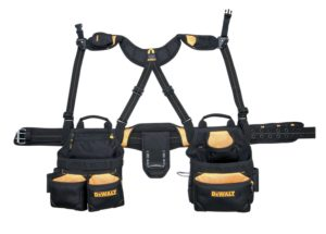 DEWALT DG5617 20-Pocket Pro Framer's Combo Apron and Yoke-style Suspenders