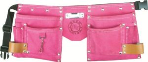 Born Tough Pocket Tool Belt and Bag - Pink
