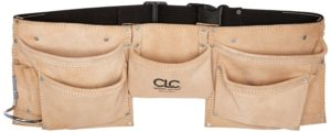 Custom LeatherCraft Suede Leather Tool Belt