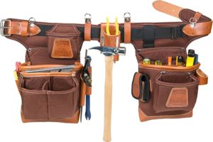 Occidental Leather Adjust To Fit Fat Lip Cafe Tool Belt