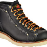 Thorogood Men's Heritage Lace-To-Toe Roofer Work Boot - Black