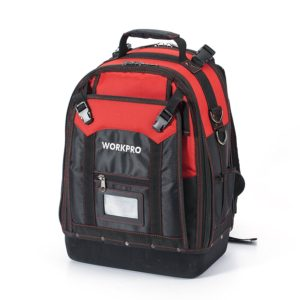 WORKPRO Tool Backpack Tradesman Organizer Bag 37 Pockets